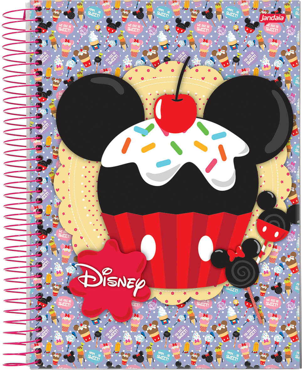 Disney Sweetie - Caderno Universitário