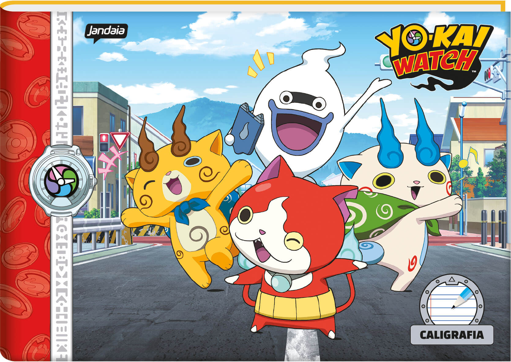 Yo-kai Watch - Caligrafia