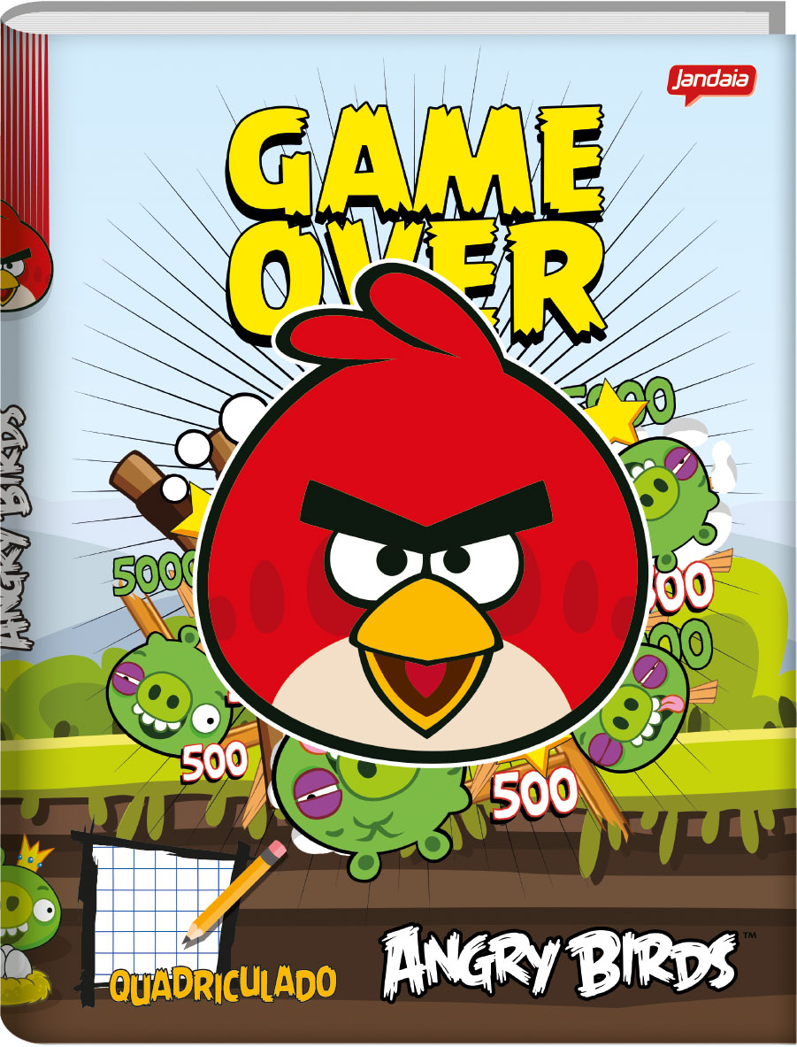 Angry Birds - Quadriculado Plus